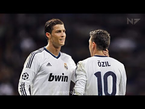 Cristiano Ronaldo & Mesut Özil ● The Perfect Duo ● All Assists On Each Other 2010-2013 | HD