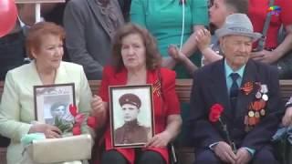 Парад юнармейцев г. Алатыря, посвященный 74 й годовщине Великой Победы