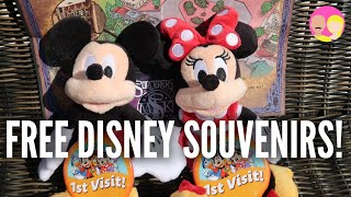 Free Souvenirs You Can Get At Disney!