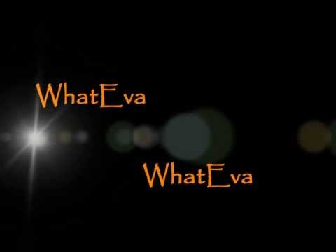 "Tamar Braxton is really down for ""WhatEva...."" (LYRIC VIDEO)"