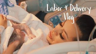 Labor & Delivery Vlog   REAL & RAW FOOTAGE.