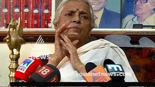 Poet Sugathakumari  turns 84