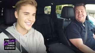 Justin Bieber Carpool Karaoke - YouTube