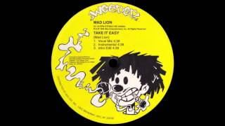 Mad Lion - Take It Easy (Vocal Mix)