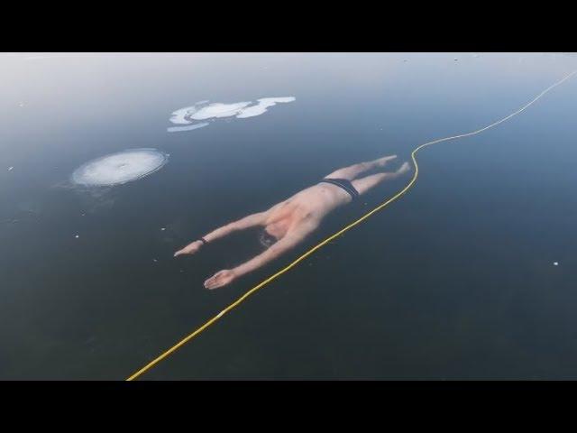 Swimming Under Ice