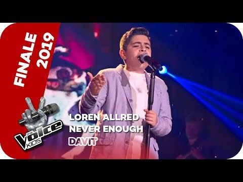 Loren Allred - Never Enough (Davit) | Finale | The Voice Kids 2019 | SAT.1