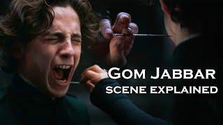 Dune (2020) - The Gom Jabbar Scene