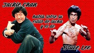 Jackie Chan habla sobre su estilo de lucha y el de Bruce Lee