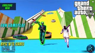 GTA V | RPG v/s CARS Fun Gameplay With RON