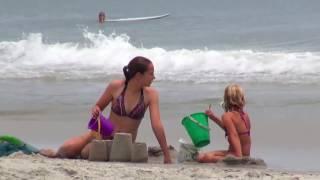 Отдых в США Северная Каролина huntington beach пляж на Антлантическом океане