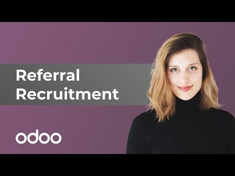 Referral Recruitment | odoo Referrals
