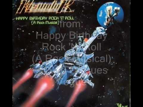 CD *** KOSMOLOK - HAPPY BIRTHDAY ROCK'N'ROLL *** SPACE DISCO 70's, ROCK'N'ROLL *** CD-R !!!