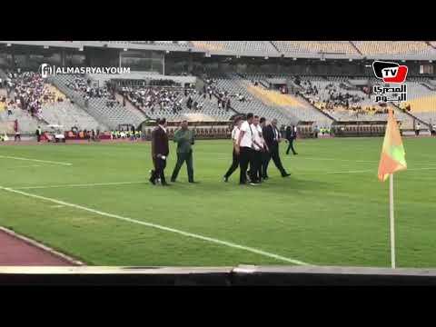 حكام نهائي كأس مصر يتفقدون أرضية «برج العرب» قبل مواجهة الزمالك وبيراميدز