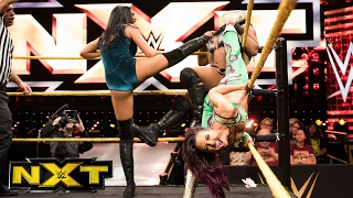 Ember Moon & Liv Morgan vs. Billie Kay & Peyton Royce: WWE NXT...