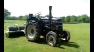 preview picture of video 'FIELD MARSHALL TRACTOR ROLLING : WWW.RUDGWICKSTEAMSHOW.CO.UK     WWW.FIELDMARSHALLTRACTORS.COM'