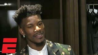 Jimmy Butler says that he