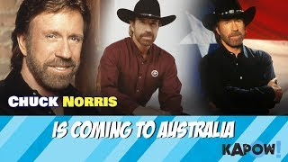Chuck Norris Australian Tour