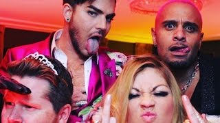Adam Lambert : NYE Party All IG videos and photos 01-01-2017