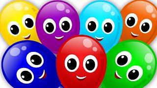 balloons color | song rainbow | colors song | nursery rhyme | learn colors | kids tv cartoon