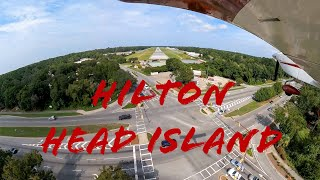 Flying to Hilton Head Island KHXD with family/kids in Private Plane - Grumman Tiger Flight
