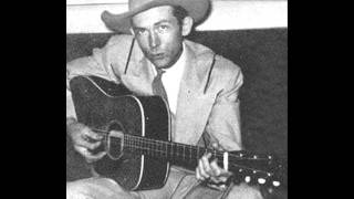 Hank Williams - I'm So Tired of It All