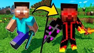 Майнкрафт ПЕ Мод ~ Как стать Херобрин и защита нуба от Хиробрин в Майнкрафт Обзор Мода Minecraft PE