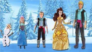 Disney Frozen Elsa Finger Family Nursery Rhymes Elsa And Anna Family Finger for Kids | Lido TV