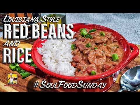 Louisiana Style Red Beans and Rice Recipe | #SoulFoodSunday​