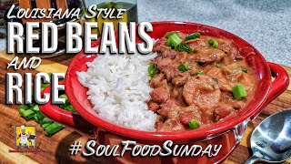 Louisiana Style Red Beans And Rice Recipe | #SoulFoodSunday