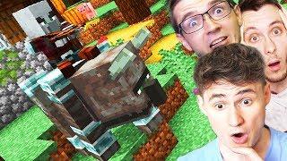 NÁŠ PRVNÍ RAID! l Minecraft w/ Wedry, House #6