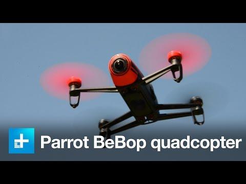 Parrot BeBop Drone - Hands-on Review