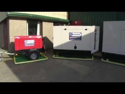 DH Marine Diesel Generators Hire