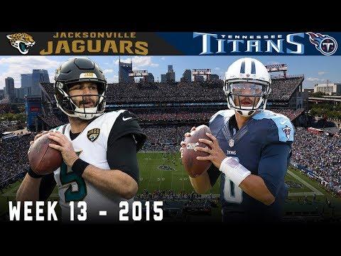 Bortles & Mariota Big Play Battle! (Jaguars vs. Titans, 2015)