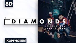 8D AUDIO | Summer Cem Feat. Capital Bra   Diamonds