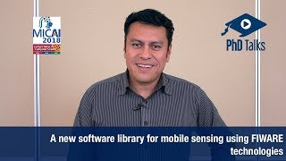 A new software library for mobile sensing using FIWARE technologies