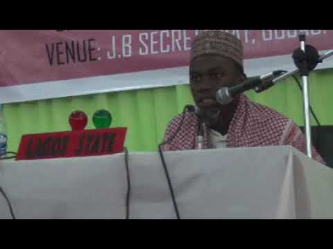 2013 Nigerian Qur'an Competition: Lagos Tangeem. Male Participant