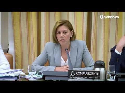 """Maria Dolores de Cospedal: """"No hay ninguna caja B aunque lo diga un juez"""""""