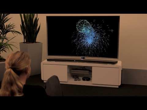 Samsung Smart TV: Eine Soundbar mit einem Smart TV verbinden