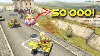Tanki Online - April Fools Goldbox Montage! (50 000 crystals?!) танки Онлайн