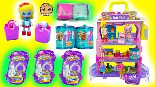 Happy Places Shoppies Dolls Shop at Shopkins Tall Mall for Surprise Blind Bags