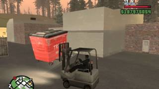 GTA San Andreas: Forklift