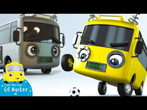 Robot Buster - Go Buster | BRAND NEW | Cartoons For Kids | Nursery Rhymes | Little Baby Bum