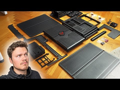 It Came In PIECES!  Building a Unique Modular PC Case
