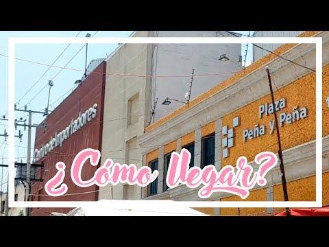 2 rutas para llegar a Plaza de los Chinos y Centro de Importadores CDMX | Lau Kudo