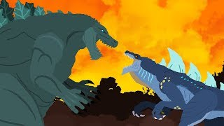 Godzilla Earth vs Zilla Jr | DinoMania - Godzilla Cartoons - NEW Episode