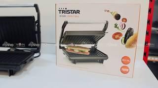 """Гриль контактный TRISTAR GR-2650 от компании Компания """"TECHNOVA"""" - видео"""
