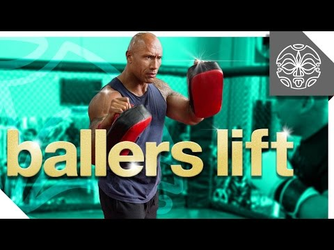 BALLER'S LIFT: The Rock's Most Ballin' Moments From The Set