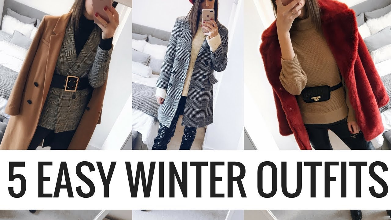 5 EASY WINTER OUTFITS ❄️ CHATTY HIGHSTREET LOOKBOOK ❄️ CIARA O DOHERTY