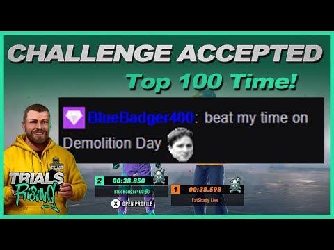 Demolition Day Challenge - Trials Rising