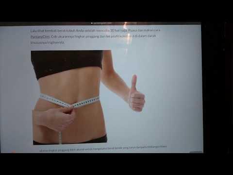 Menyebabkan penurunan berat badan yang dramatis pada wanita 30 tahun gejala